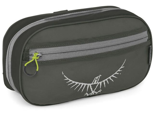 Osprey Ultralight Toilettas met ritssluiting, shadow grey